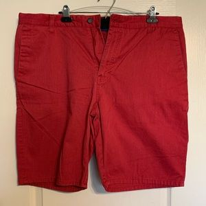 Red Volcom Shorts Size 38